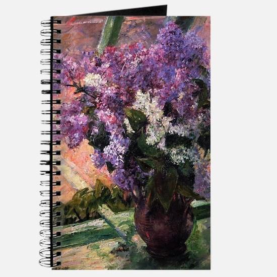 Lilacs in a Window by Mary Cassatt Journal