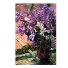 Lilacs in a Window by Mar Postcards (Package of 8)