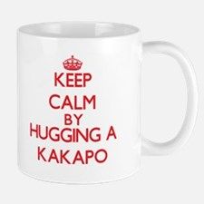Keep calm by hugging a Kakapo Mugs