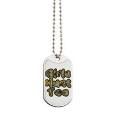 Girls Hunt Too Dog Tags