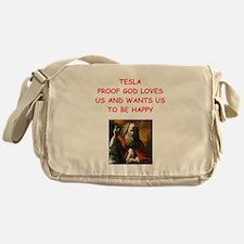 tesla Messenger Bag