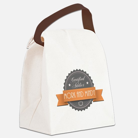 Certified Addict: Mork and Mindy Canvas Lunch Bag