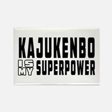 Kajukenbo Is My Superpower Rectangle Magnet