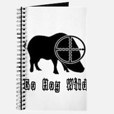 Feral Hog- Go Hog Wild Journal
