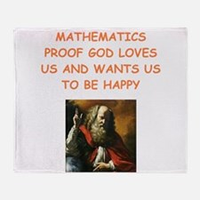 mathematics Throw Blanket