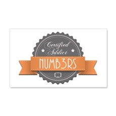 Certified Addict: Numb3rs 22x14 Wall Peel
