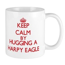 Keep calm by hugging a Harpy Eagle Mugs