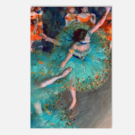 The Green Dancer by Edgar Postcards (Package of 8)