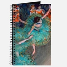 The Green Dancer by Edgar Degas Journal