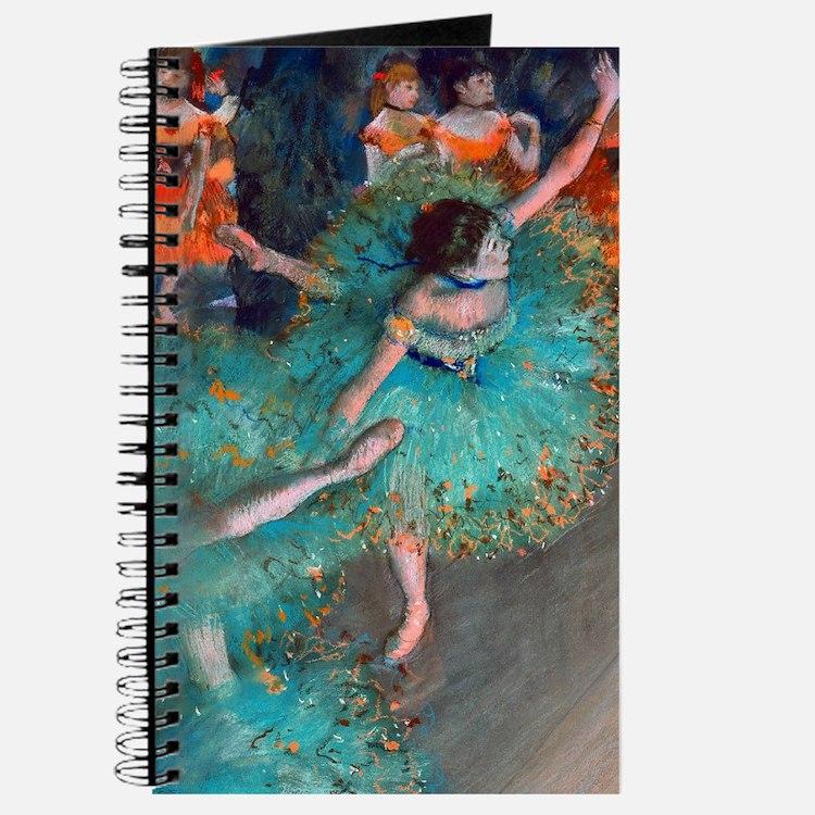 The Green Dancer by Edgar Degas Journal