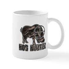 Riveted Metal Feral Hog Hunter Mugs