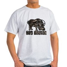 Riveted Metal Feral Hog Hunter T-Shirt