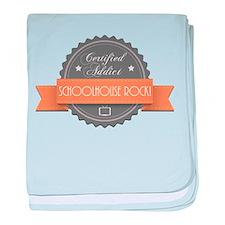Certified Addict: Schoolhouse Rock! Infant Blanket