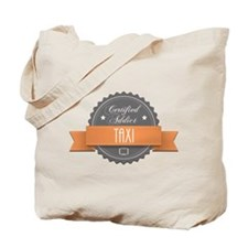 Certified Addict: Taxi Tote Bag