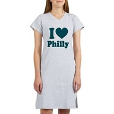 I Heart Philly Women's Nightshirt