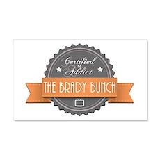 Certified Addict: The Brady Bunch 22x14 Wall Peel
