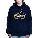 BOOTY SQUATS - YELLOW Hooded Sweatshirt