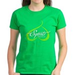 BOOTY SQUATS - LIME T-Shirt