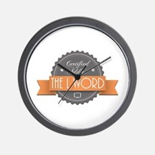 Certified Addict: The L Word Wall Clock
