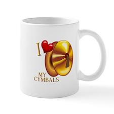 I Love My Cymbals Mug