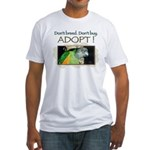 Fitted T-Shirt - Senegal Parrot