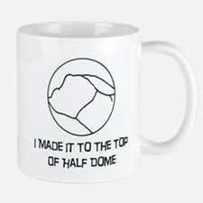 I Made It To The Top Of Half Dome Logo Mugs