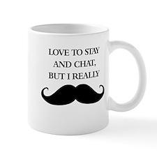 I Really Mustache Mugs