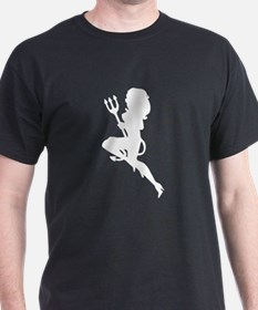 Sexy Devil Silhouette T-Shirt