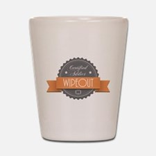 Certified Addict: Wipeout Shot Glass