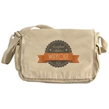 Certified Addict: Wipeout Canvas Messenger Bag