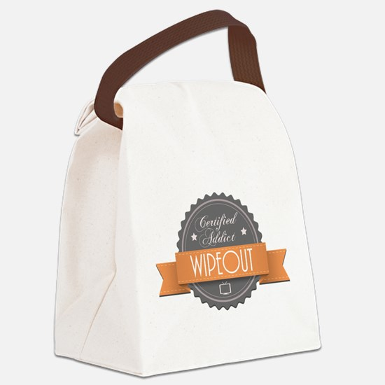 Certified Addict: Wipeout Canvas Lunch Bag