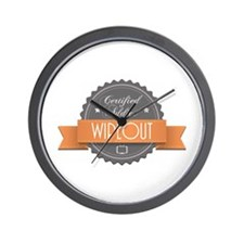 Certified Addict: Wipeout Wall Clock