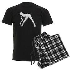 Exotic Dancer Silhouette Pajamas