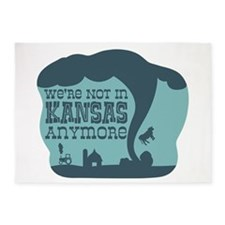 WERE NOT IN KANSAS ANYMORE 5'x7'Area Rug