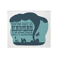 WERE NOT IN KANSAS ANYMORE Throw Blanket