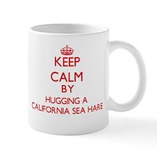 Keep calm by hugging a California Sea Hare Mugs