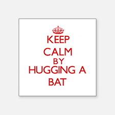 Keep calm by hugging a Bat Sticker