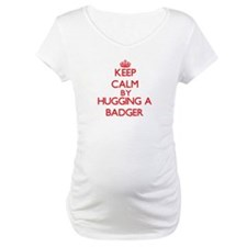 Keep calm by hugging a Badger Shirt