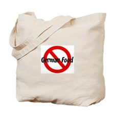 Anti German Food Tote Bag