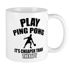 ping pong is my therapy Mug