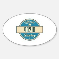 Official 90210 Fanboy Oval Decal