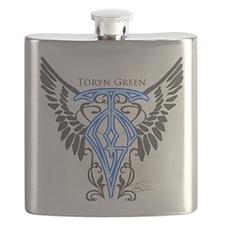 Toryn Green Signature Shirt Flask