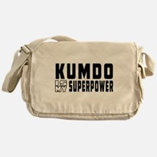 Kumdo Is My Superpower Messenger Bag