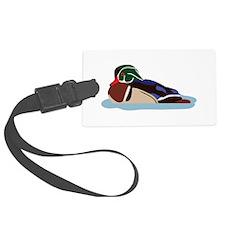 Wood Duck Luggage Tag