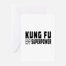 Kung Fu Is My Superpower Greeting Cards (Pk of 10)