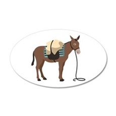 Pack Mule Wall Decal