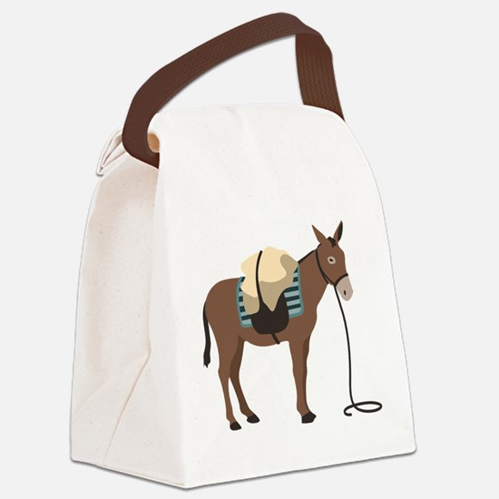 Pack Mule Canvas Lunch Bag