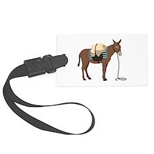 Pack Mule Luggage Tag