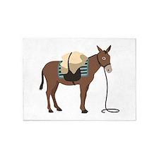 Pack Mule 5'x7'Area Rug
