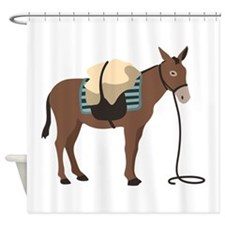 Pack Mule Shower Curtain